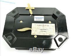 Stunning boxed Reuge Jobin Swiss Romance Canon D Pachelbel Music box