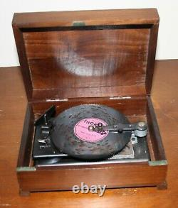 Thorens Music Box Circa 1960's with 20 Discs Box is Working Very Well