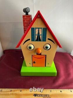 ULTRA RARE Schmid Wood Wonder House Mechanical Bank & Music Box VIDEO