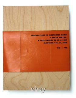 V/A 8xTAPES WOOD BOX SLOWSCAN 51 al hansen bob cobbing claus böhmler fluxus