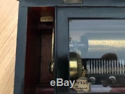 Victorian Music Box Etouffoirs en Acier soit à Spiraux