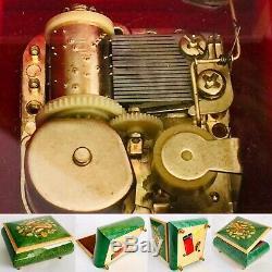 Vintage (1980s) Swiss Romance Handcrafted Music Box (5/13cm x 4/10cm, 360g)