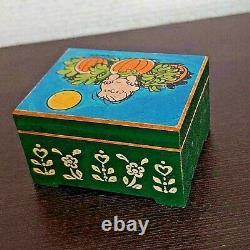 Vintage Snoopy ANRI Snoopy music box rare 1960s1970s