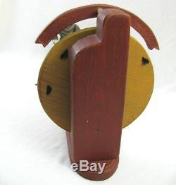 Wolf Creek Circus Folk Art Knife Thrower MACK & MAYBELLE Music Box Wood Figure