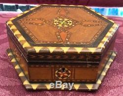 Wood Inlay Music Box