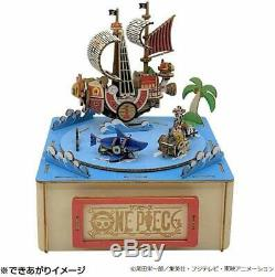 Wooden Art Puzzle ki-gu-mi ONE PIECE Straw Hat Pirates with Music Box AT0224