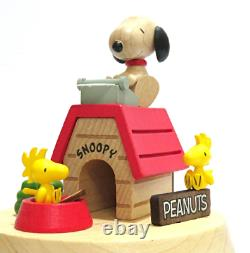 Wooderful Life Snoopy Peanut Kennel Music Box Music The Entertainer