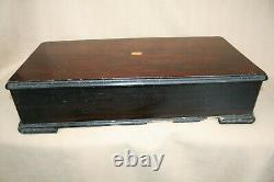 X 3 Boxed Large Antique Music Box Cylinders